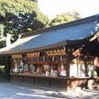A small shop at the Meiji Shrine, Tokyo.