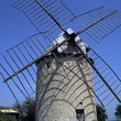 Traditional windmill in Castelnau-montratier.