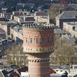 The old water tower in Utrecht.