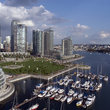 Marina in downtown Vancouver.