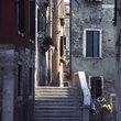 Narrow street in Venice.