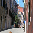 Typical street in Venice.