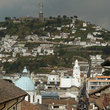 View over the city of Quito.