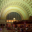 Train Station interior in Washington.
