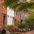 Row of townhouses in Washington.