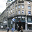 The Bahnhofstrasse street in centre of Zurich.