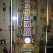 Pagoda Automaton clock built in London in 1780 in Beyer Watch and Clock Museum in Zurich.