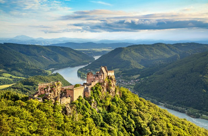 The Ruins of Aggstein Castle