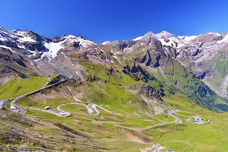 The Grossglockner Road to Franz-Josefs-Höhe