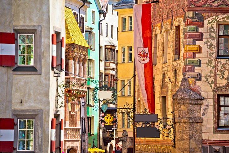 Casco antiguo de Innsbruck