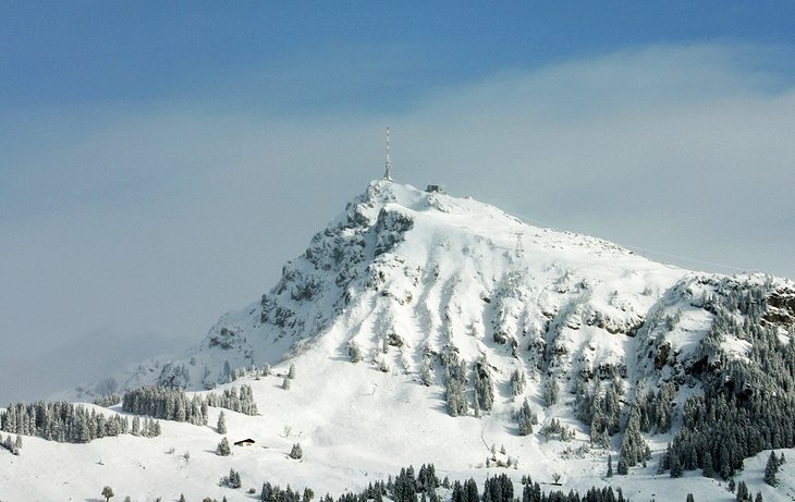 Skiing at Kitzbühel and Kitzbüheler Horn