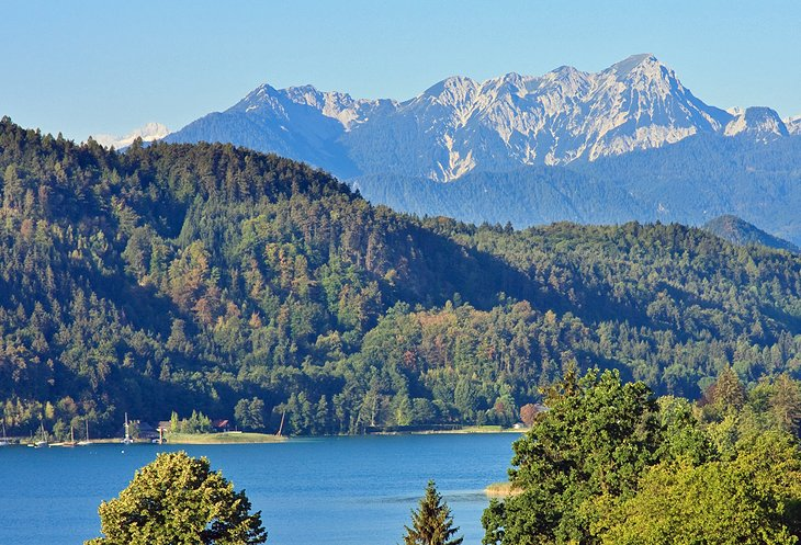 Wörthersee: Water Sports and Wonderful Views