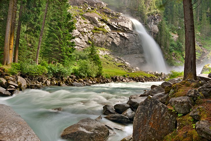 Krimmler Ache: Austria's Tallest Waterfalls
