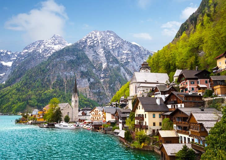 Hallstatt's Churches and Market Square
