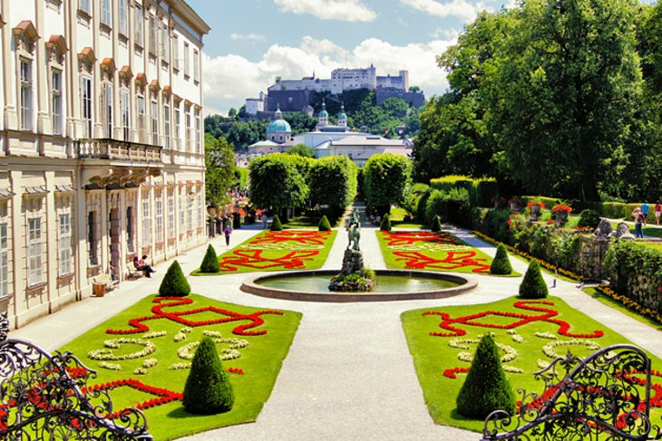 Schloss Mirabell (Mirabell Palace) and Gardens