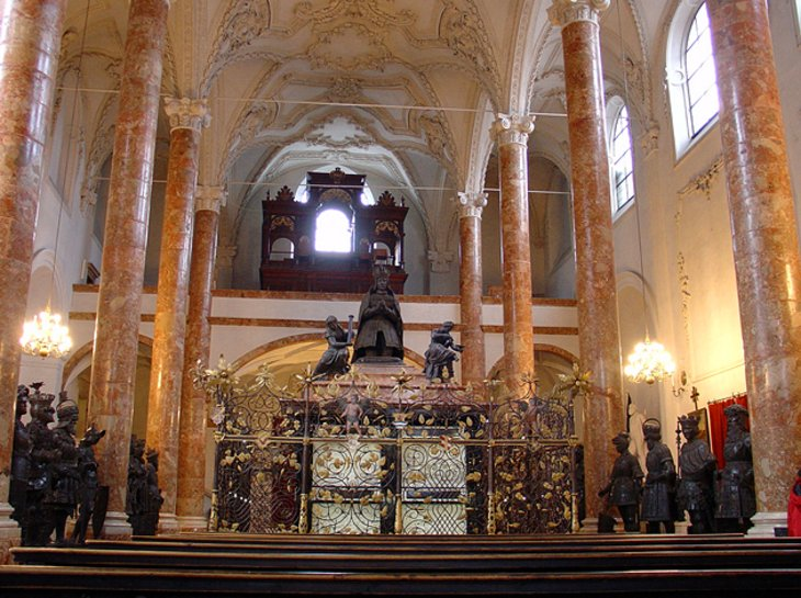 The Hofkirche and the Emperor's Tomb