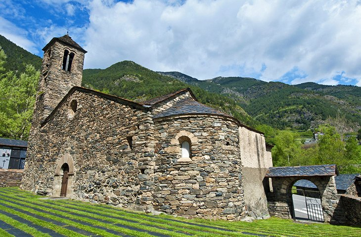 La Cortinada and iris Church