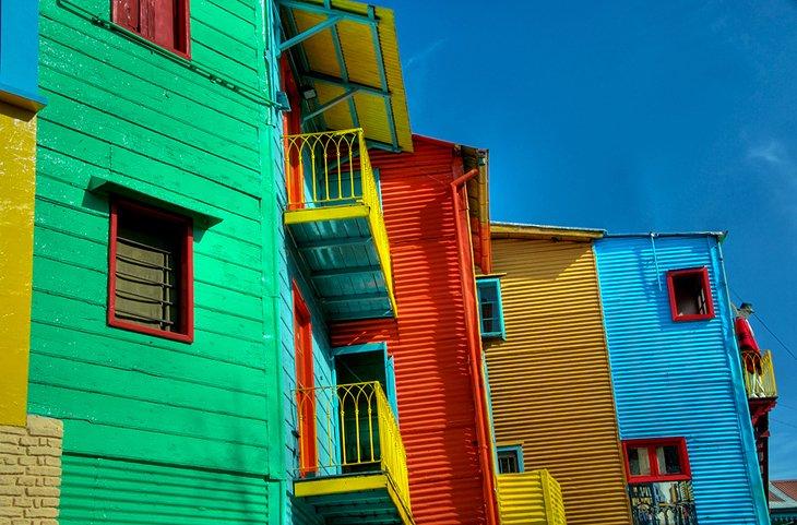 لا بوکا و موزه خیابانی Caminito