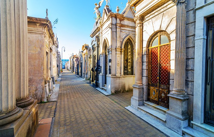 The Recoleta Cemetery and Museums