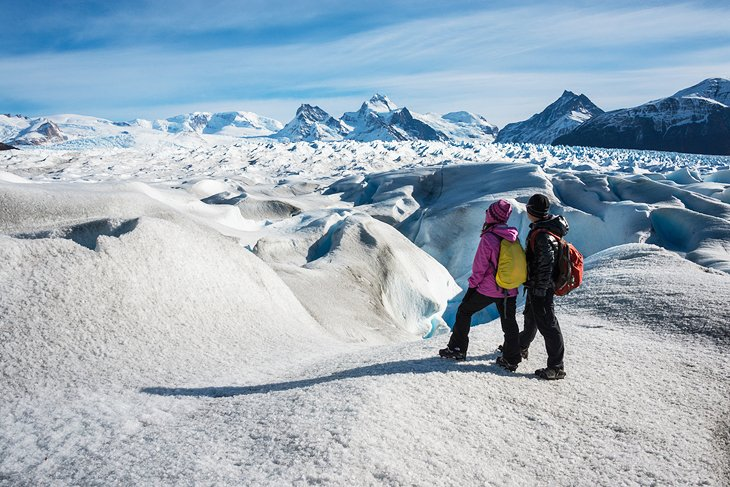 The Ice Hike on Perito Moreno