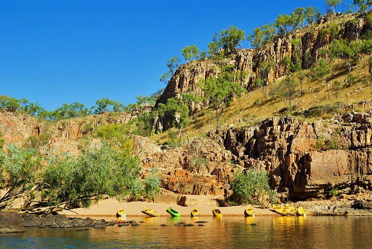 Kayak Katherine Gorge (Nitmiluk National Park), Northern Territory