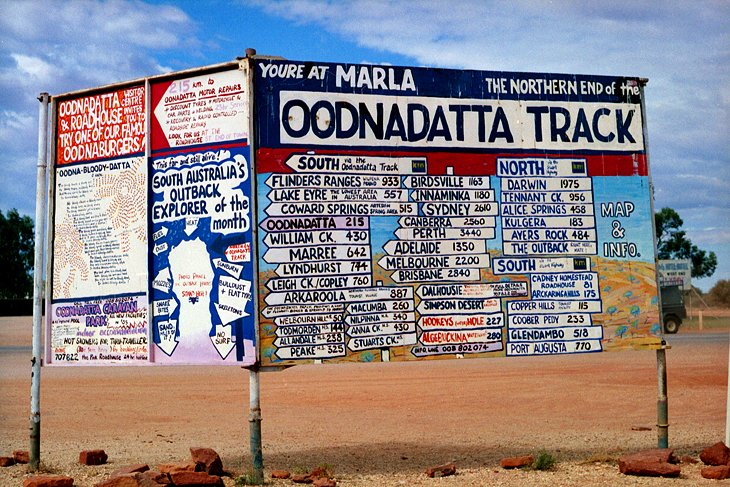 Travel the Oodnadatta Track, South Australia