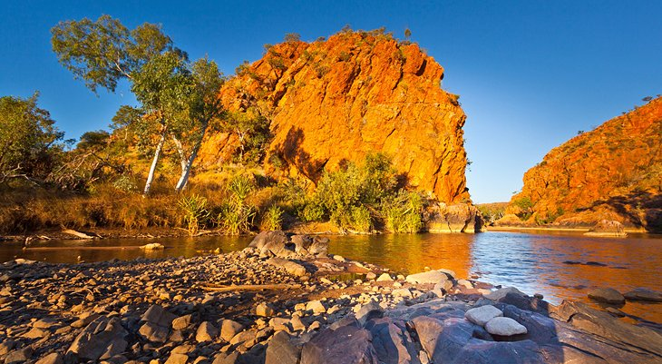 Gorge on the Old River in the Kimberley Region