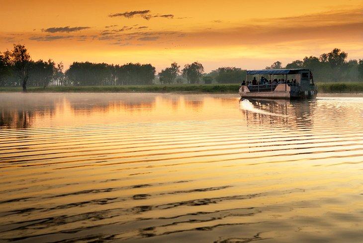 Yellow Water Billabong at dawn
