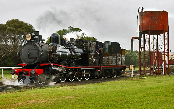 Queenscliff Vintage Trains