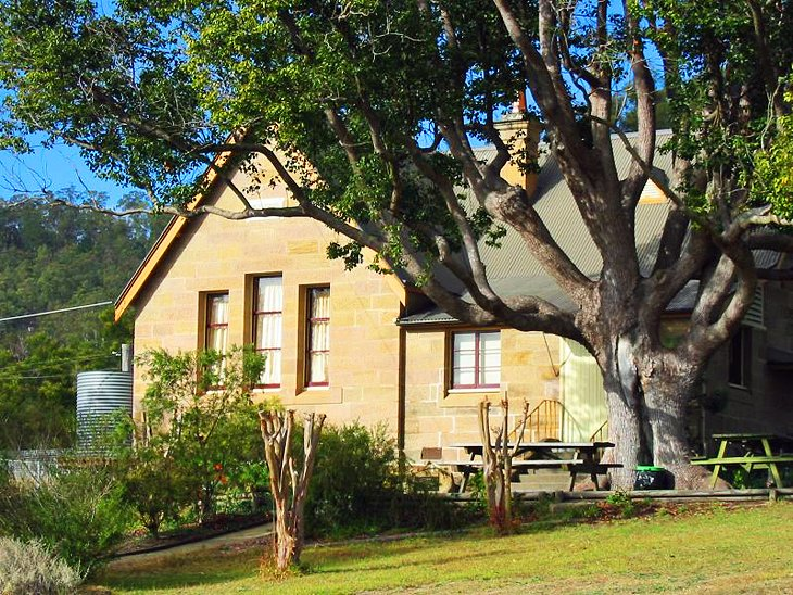 Sandstone school in Wollombi