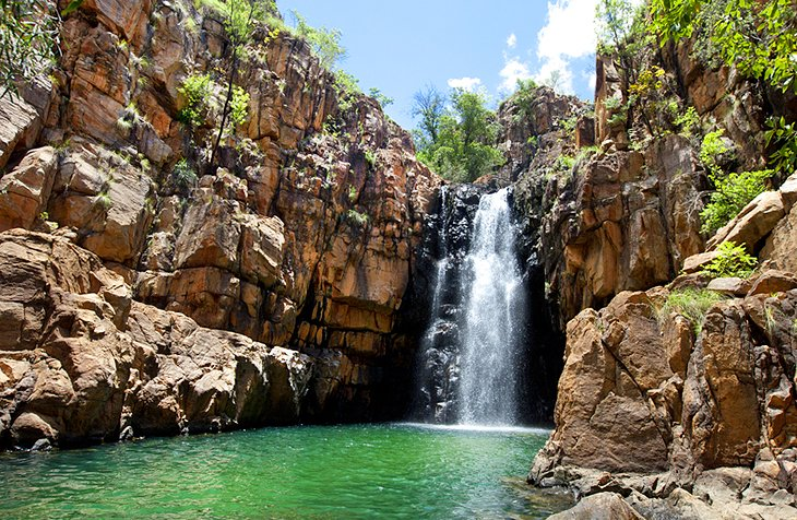 Waterfall in Katherine Gorge