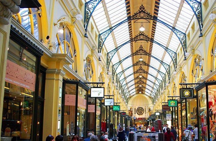 Arcades and Laneways