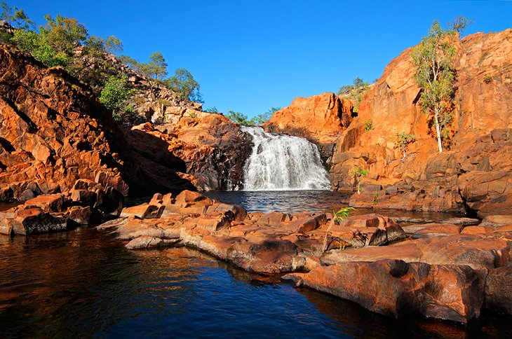 Waterfall in Kakadu