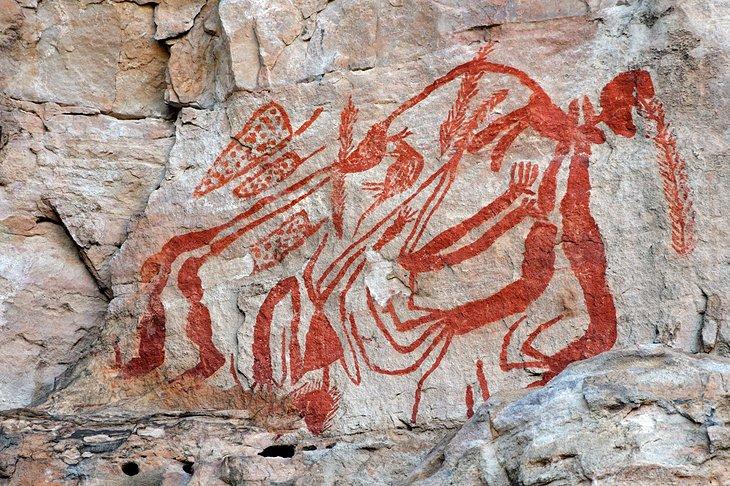 Arte rupestre de Ubirr