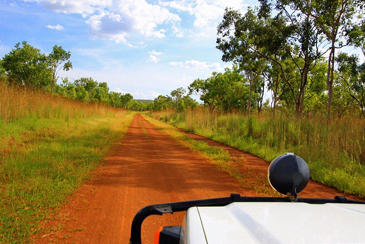 Driving in Kakadu