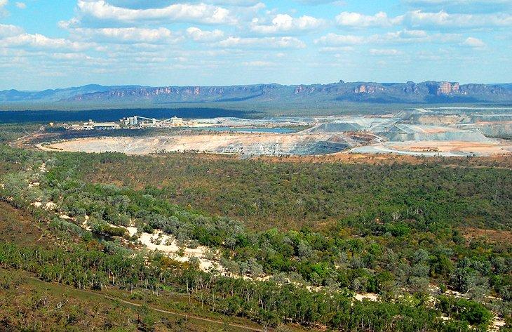 Mina de uranio Ranger cerca de Jabiru
