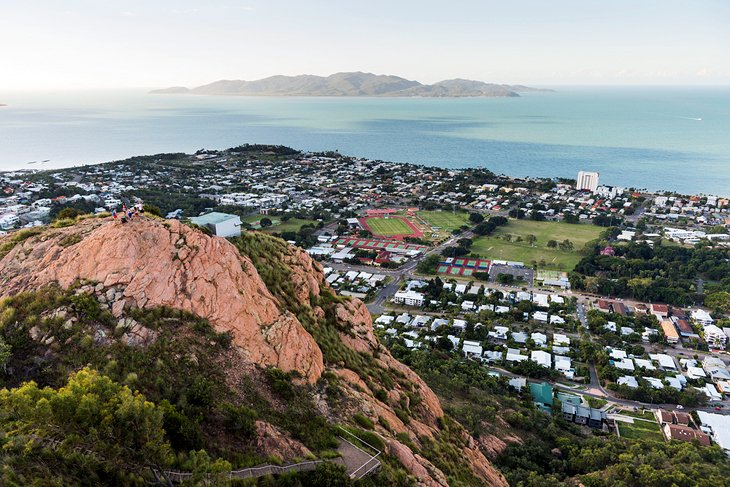 View over Townsville from Castle Hill