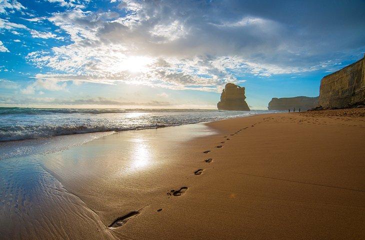 Gran paseo oceánico, Victoria