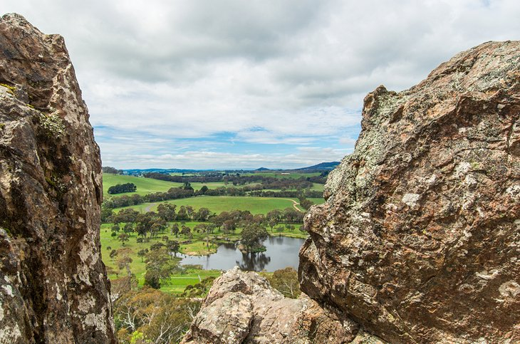 Hanging Rock Reserve, The Macedon Ranges