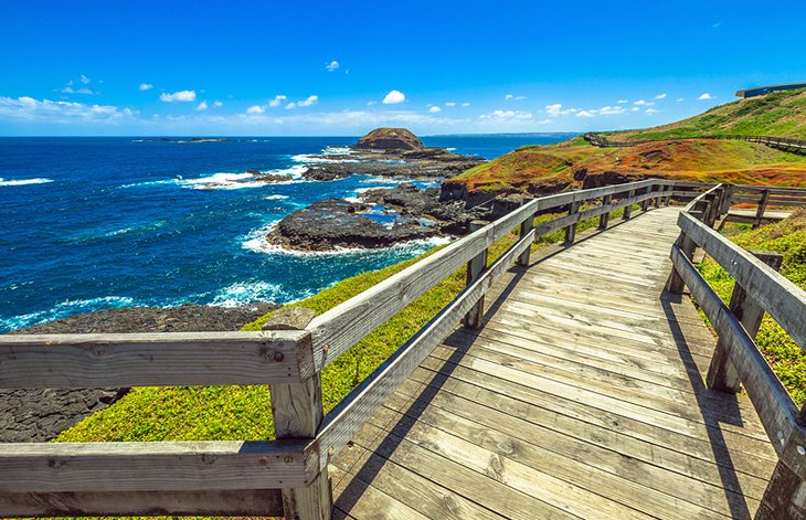 Phillip Island: Seaside boardwalk