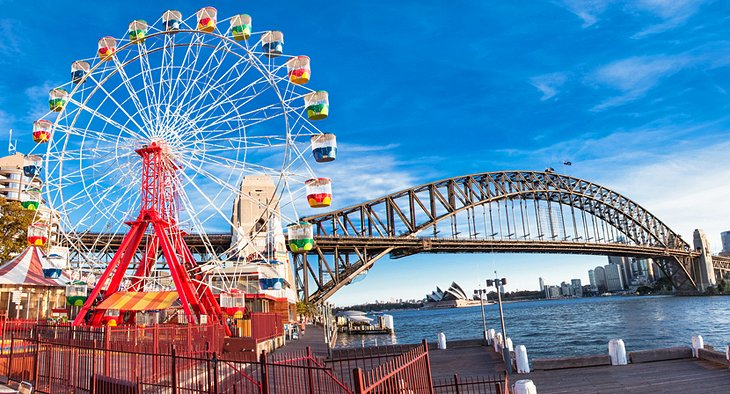 Ride a Roller Coaster at Luna Park Sydney