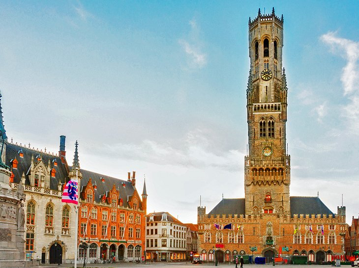 The Canals and Belfry of Bruges