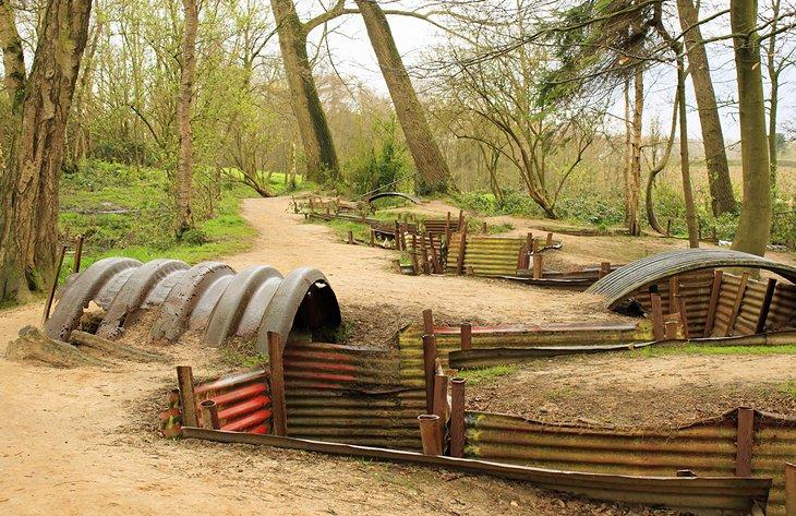Los campos de batalla de Flandes