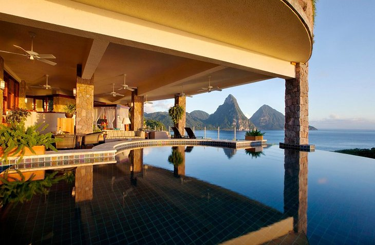 Photo Copyright: Jade Mountain Resort