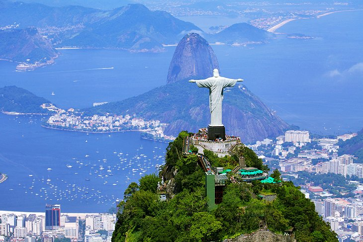 12 TopRated Tourist Attractions in Brazil – Rio De Janeiro Tourist Attractions Map