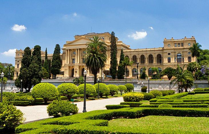Parque da Independência e Museu Paulista