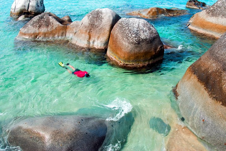 The Baths National Park, Virgin Gorda