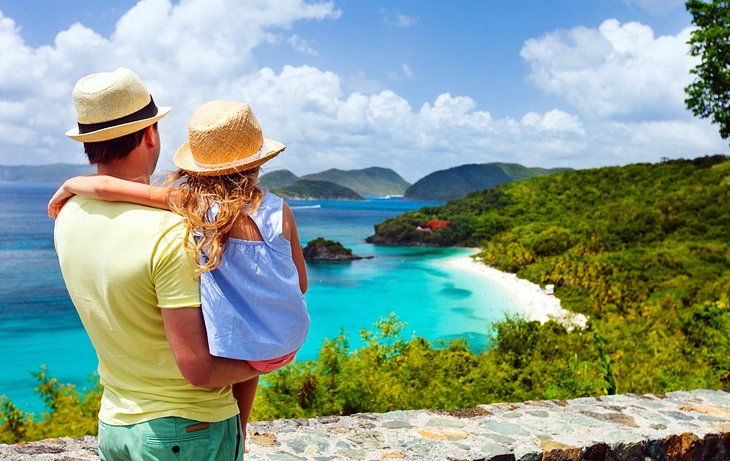 Trunk Bay, St. John's, US Virgin Islands