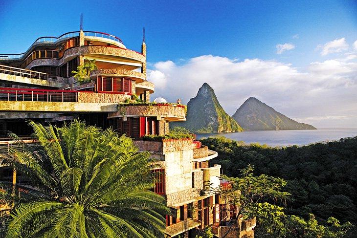 Jade Mountain Resort, Sainte-Lucie