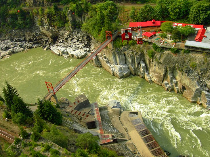 Hell's Gate Airtram in the Fraser Canyon